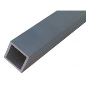 Tube carré aluminium 80 x 80 x 2 mm - Longueur 2 mètres - Découpe sur mesure offerte