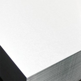 Pliage en L (Cornière)Aluminium laqué 2 faces - section 30 x 30 - 1 mètre
