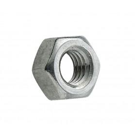 Ecrou en acier zingué  DIN classe 8.8 - Diamètre M8 - vendu par lot de 25 pièces