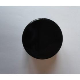 Embout rond à ailettes D40 mm  plastique noir
